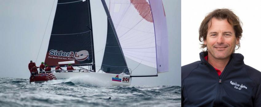 Gabriele Benussi, tattico del Vitamina Sailing Team