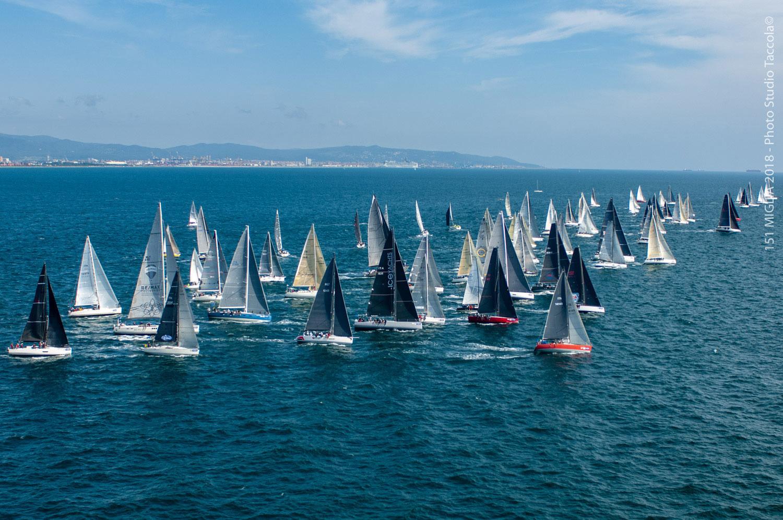 151 miglia trofeo cetilar partenza marina di pisa