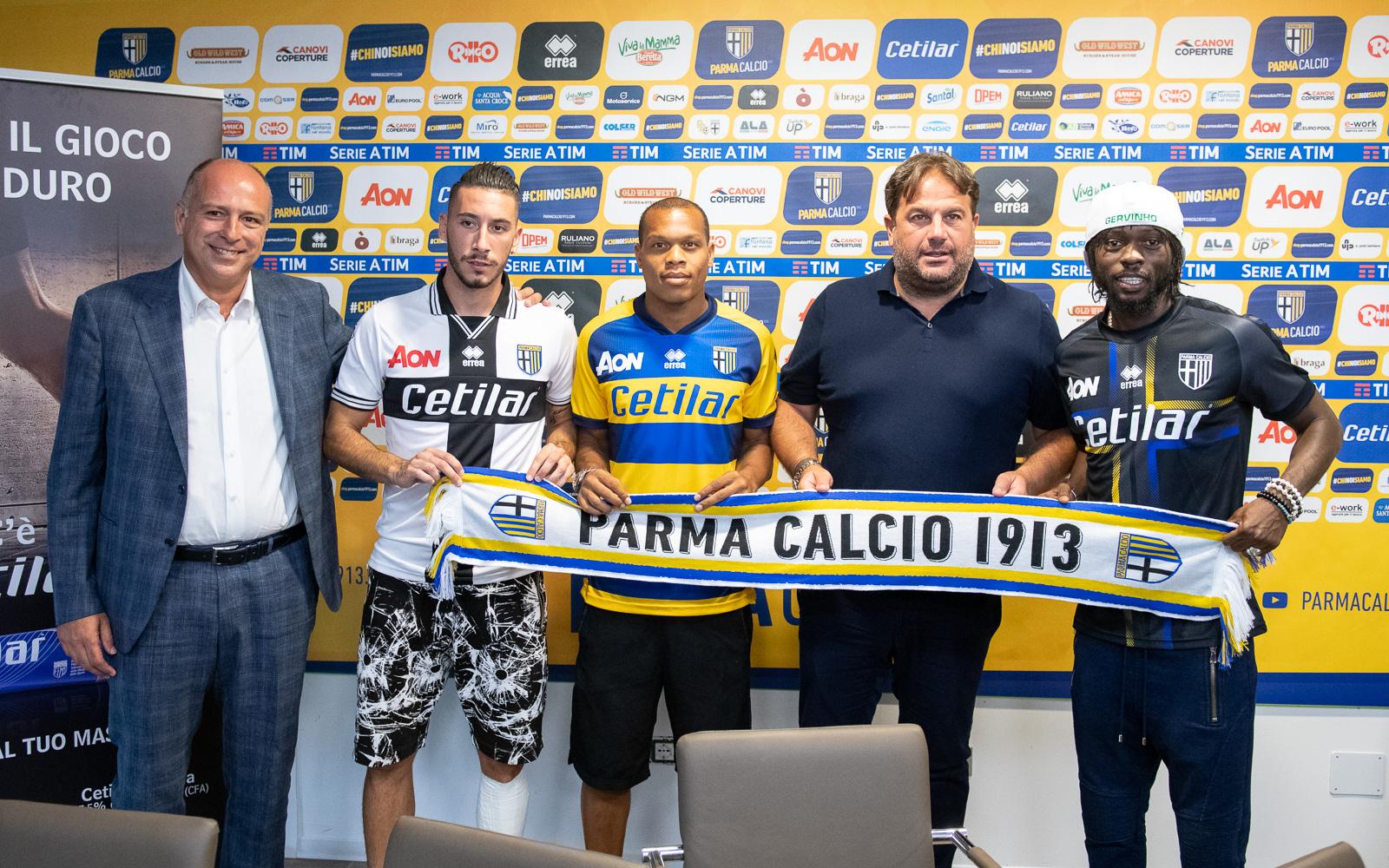 conferenza stampa presentazione partnership tra cetilar e parma calcio