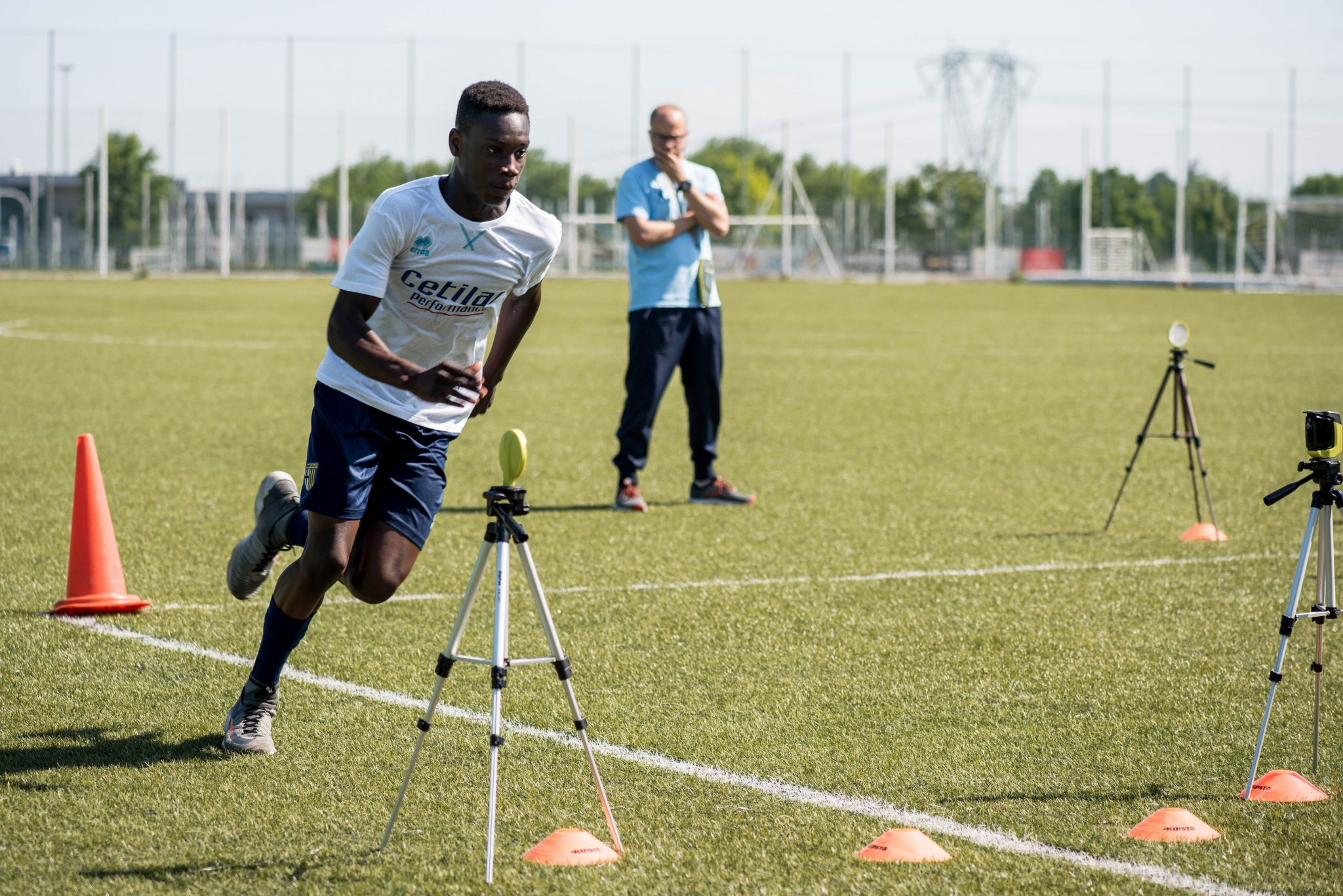 Caratteristiche antropometriche e prestazioni sportive test sul campo con parma calcio