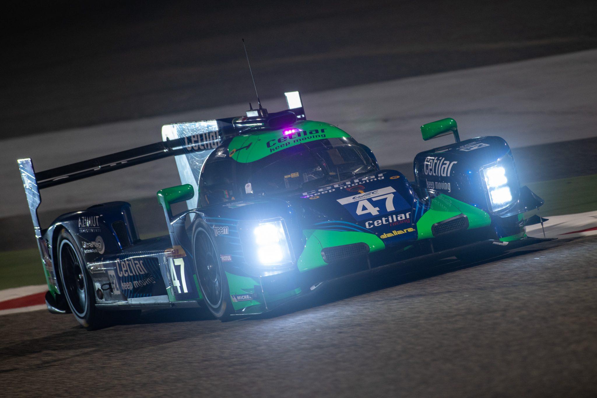 cetilar racing al traguardo della 8 ore del bahrain